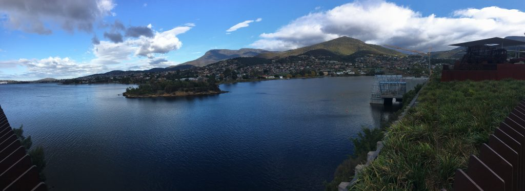 View from MONA, Tasmania