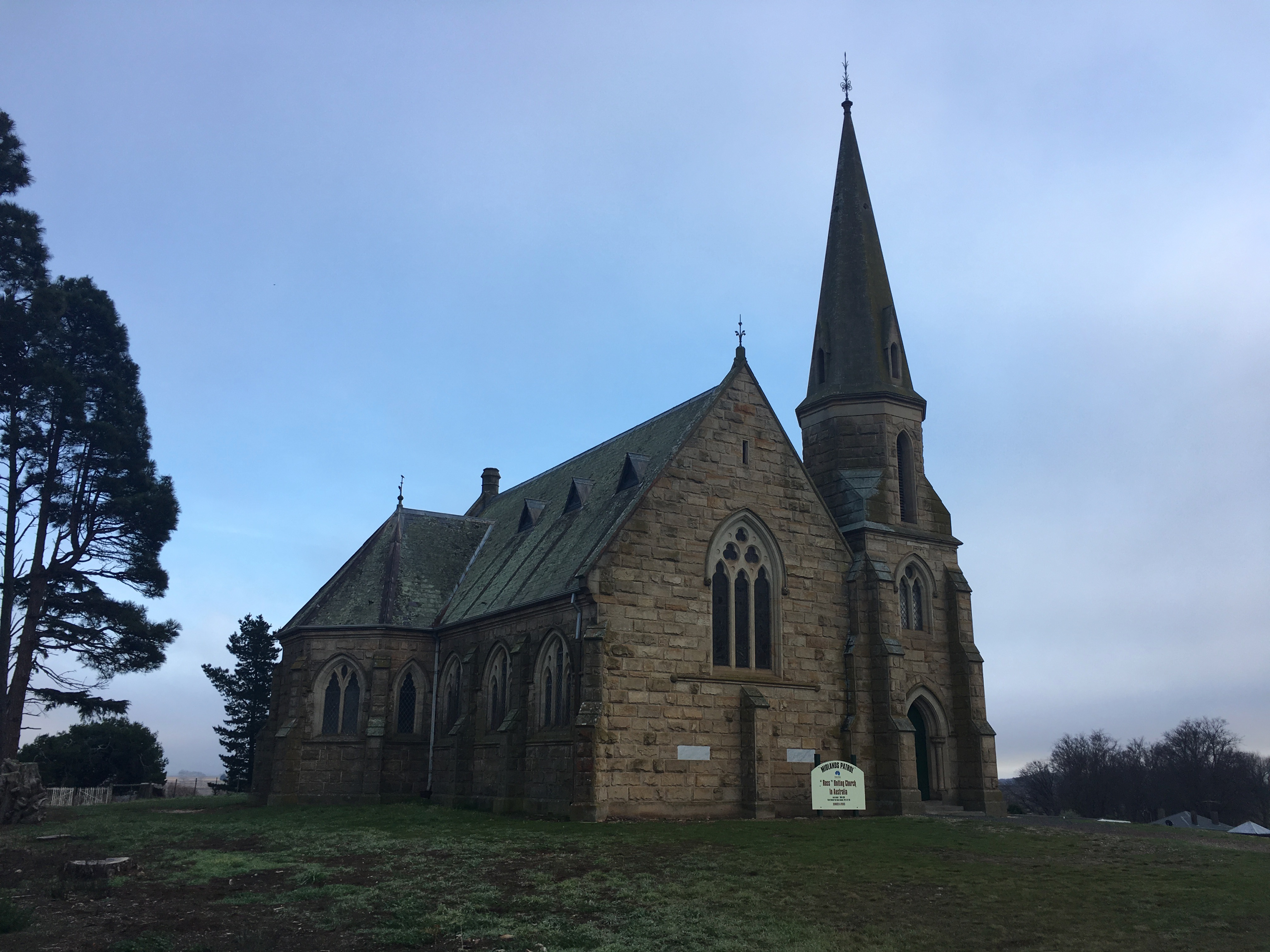 Church at Ross, Tasmania