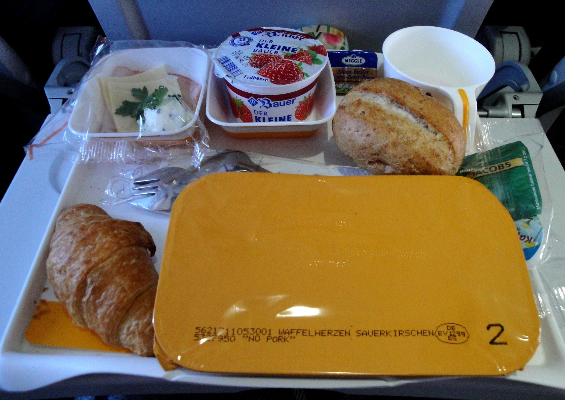 Typical Plane Food on Phoe Travels Travel Hacks