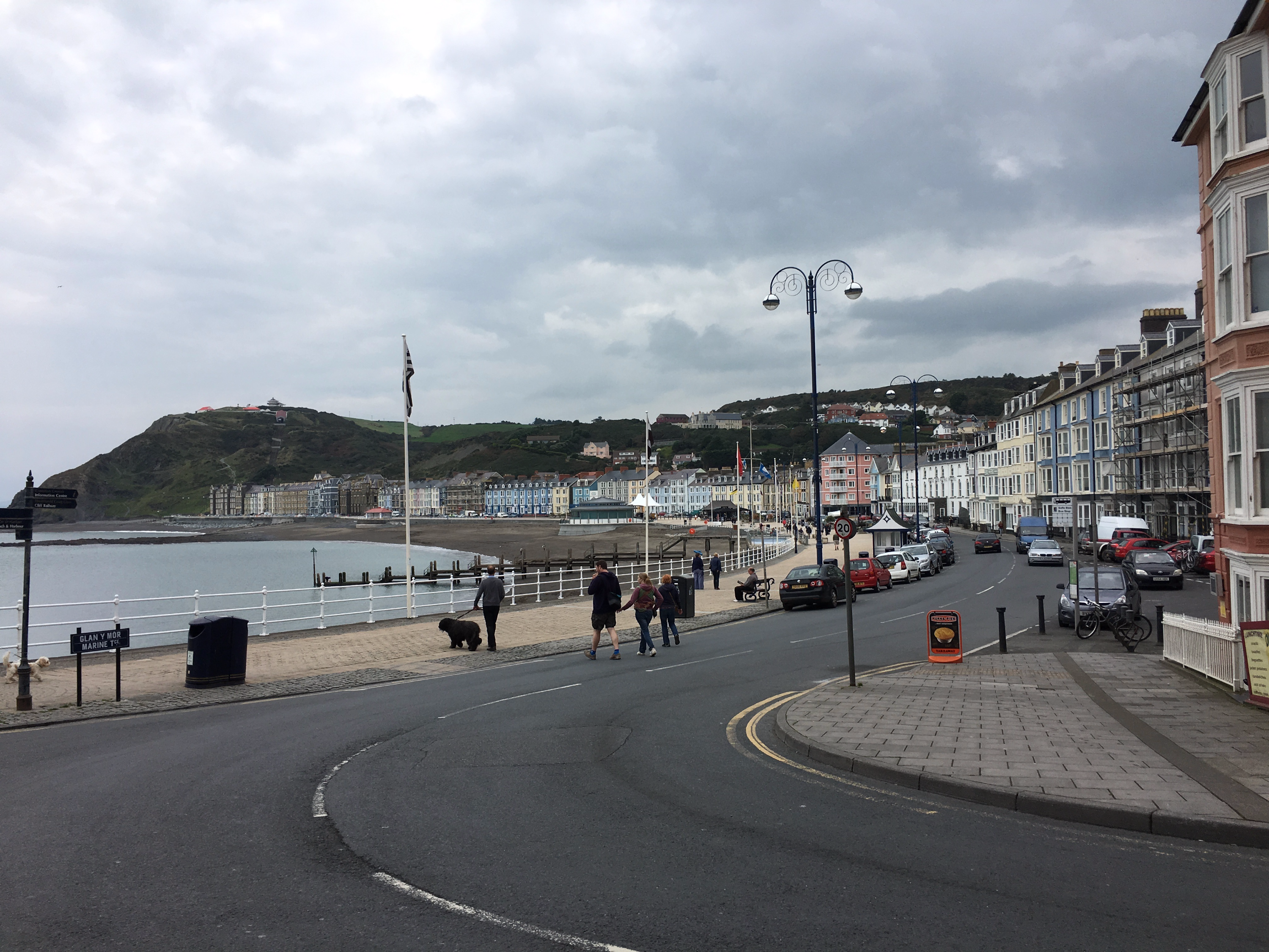Phoe Travels to Aberystwyth, Wales in the United Kingdom