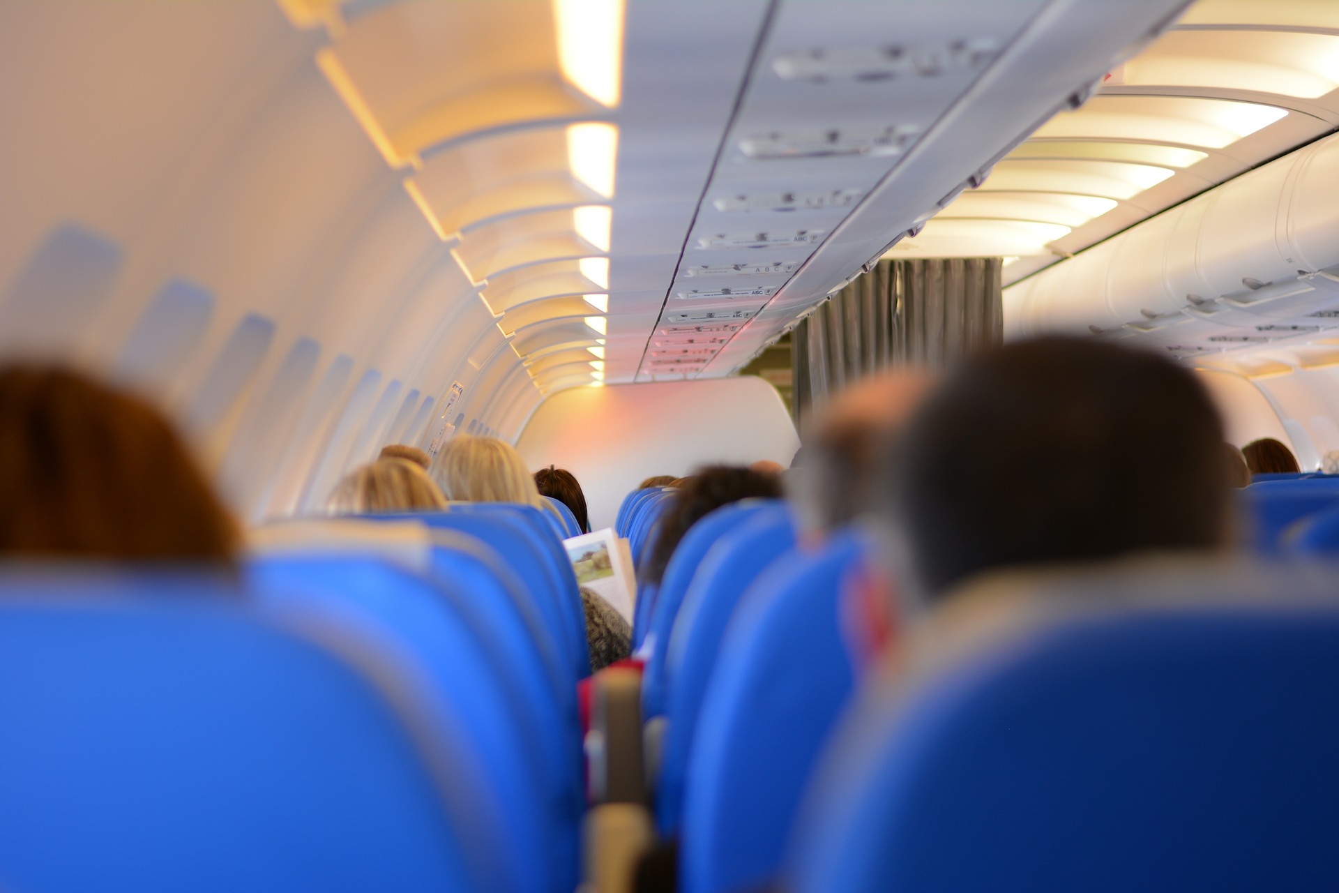 Travel Hacks the inside of a plane on Phoe Travels