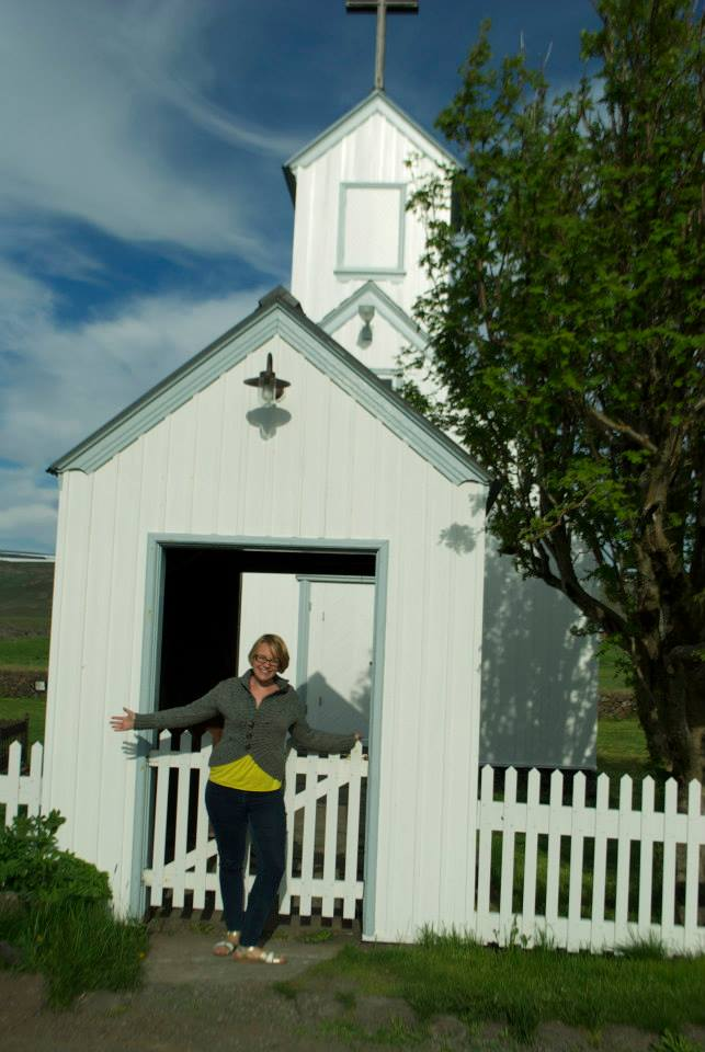 Phoe Travels to the historic Turf House Museum near Myvatn Iceland