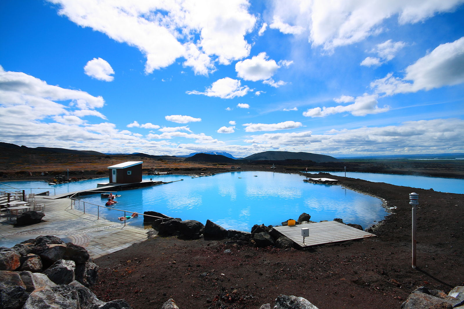 Phoe Travels to Myvatn Nature Baths in Iceland