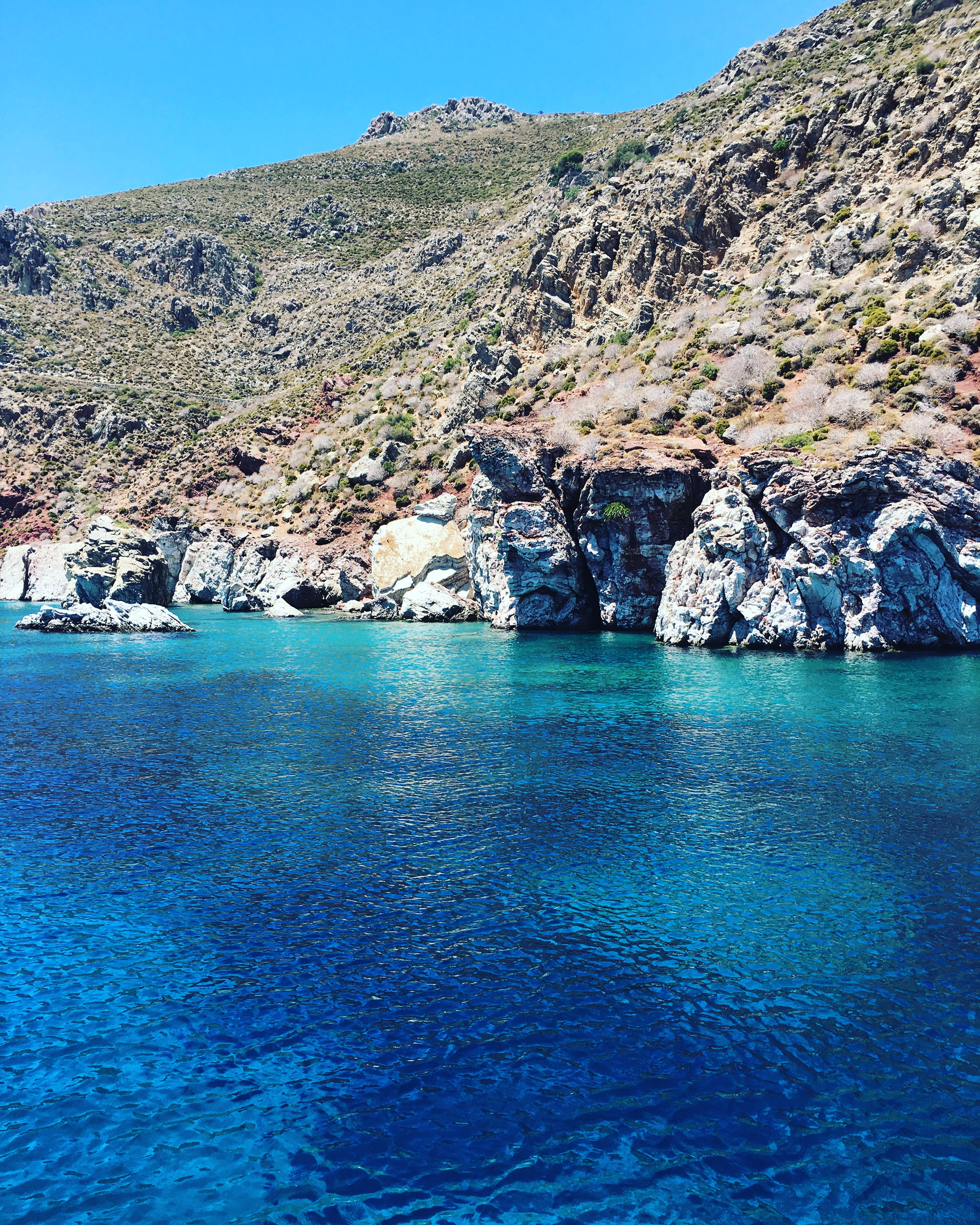 Phoe Travels to Greece for Snorkelling