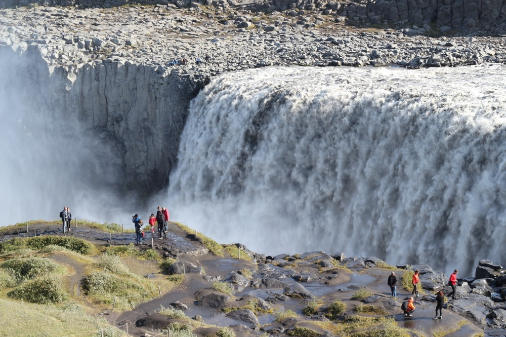 Phoe Travels to Dettifoss near Myvatn Iceland